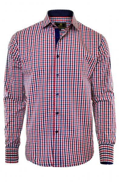 Фото Мужские рубашки Рубашка мужская Michael Schaft с рисунком
