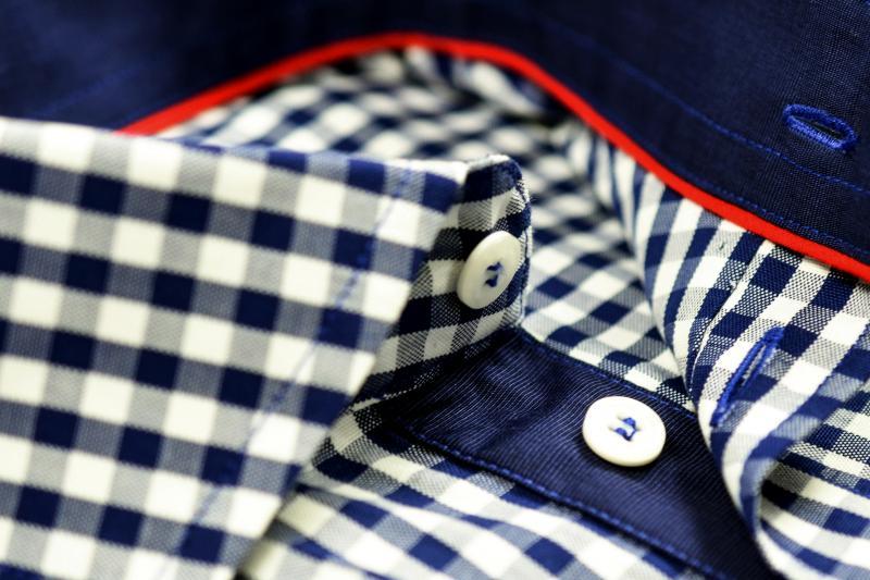 Фото Мужские рубашки Рубашка мужская Michael Schaft с узором