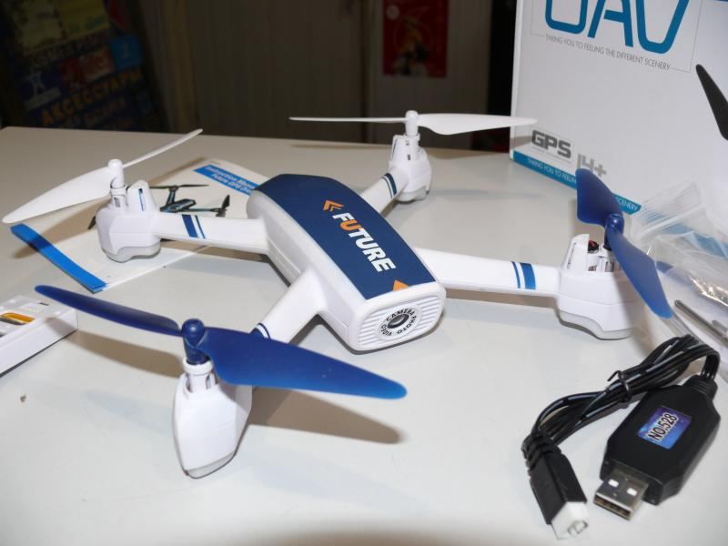 Квадрокоптер JXD-528 с камерой WiFi, автовозвратом и удержанием высоты, позиции по GPS.