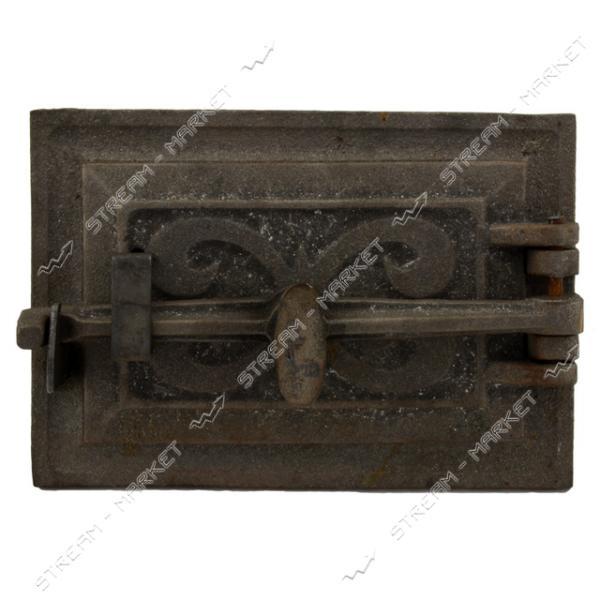 Дверца поддувальная чугунная на винте 19см х 12.5см
