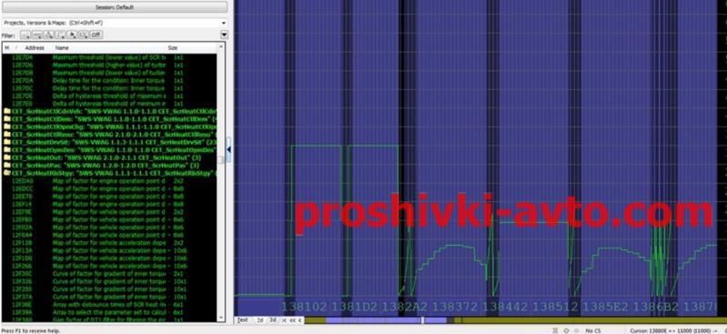 Фото DAMOS Files for WinOLS, Damos Mersedes damos MB_C200_1.8_Kompressor_SIM271KE_M700004500000