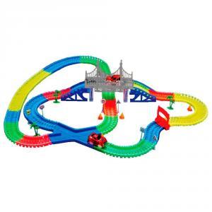 Фото Товары для детей Детская игрушечная дорога magic tracks 360 деталей + 2 машинки mega set