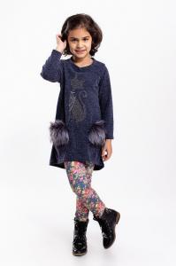 Фото Платья, туники, сарафаны Платье-туника ангорка от 5 до 13 лет