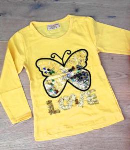 Фото НОВИНКИ Кофта- перевертыш бабочка от 1 до 8 лет