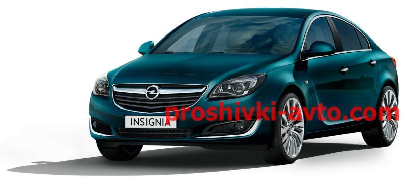 Фото OPEL чип тюнинг, Оpel INSIGNIA прошивка двигателя (прошивка эбу) Opel Insignia 2.0 CDTI 17c19  529601 noDPFnoEGR  tuning