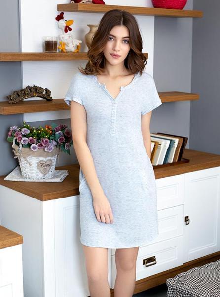 Ночная сорочка с короткими рукавами Gloss