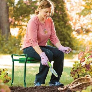 Фото Дача, сад и огород, Садовый инвентарь Скамейка-подставка под колени для огорода и дачи