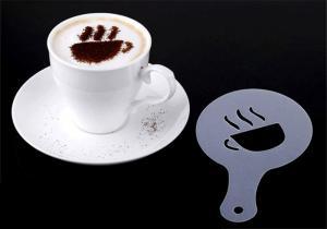 Фото Товары для кухни, Аксессуары для кухни Трафареты для украшения кофе 16 шт.