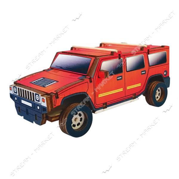 Набор-конструктор Wood Weels Hummer (красный)