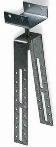 Крепление коньковой/хребтовой обрешётки Luxard 3030х600х22 мм