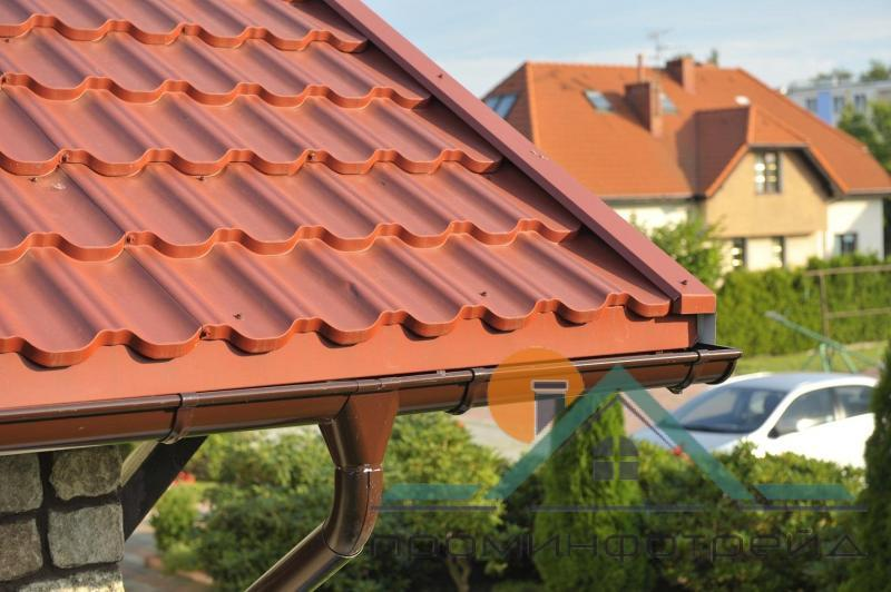 Фото Металлочерепица, Металлочерепица Максима/Эра Металлочерепица Максима/Эра PE (Полиестер), 0,45 мм, Азия/Турция