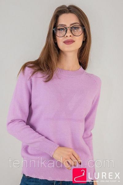 LUREX Яркий реглан Луи Витон - фиолетовый цвет, S