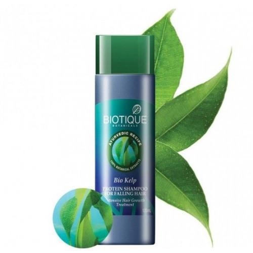 Шампунь против выпадения волос c протеинами водорослей Biotique 190мл