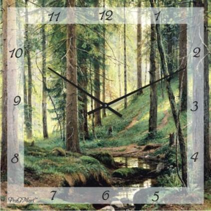 Часы настенные с немецким механизмом из стекла,ассортимент