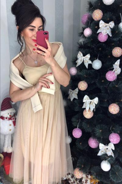 Яркий комлект кофта и юбка.