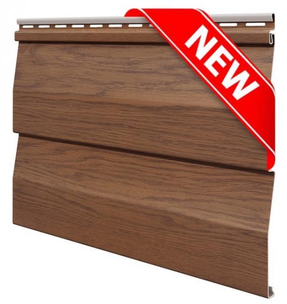 FaSiding - фасадный виниловый сайдинг - Панель Золотой дуб WoodHouse, 3,00 х 0,25