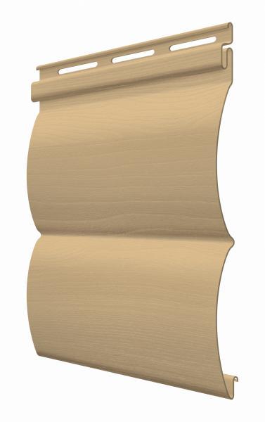 FaSiding - фасадный виниловый сайдинг - Панель Арахис БлокХаус 3,66 х 0,23 м