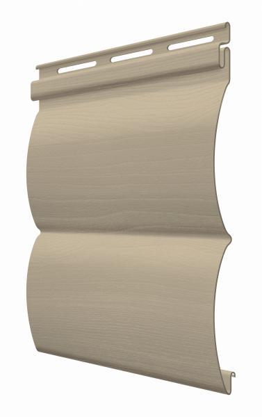 FaSiding - фасадный виниловый сайдинг - Панель Грецкий орех БлокХаус 3,66 х 0,23 м