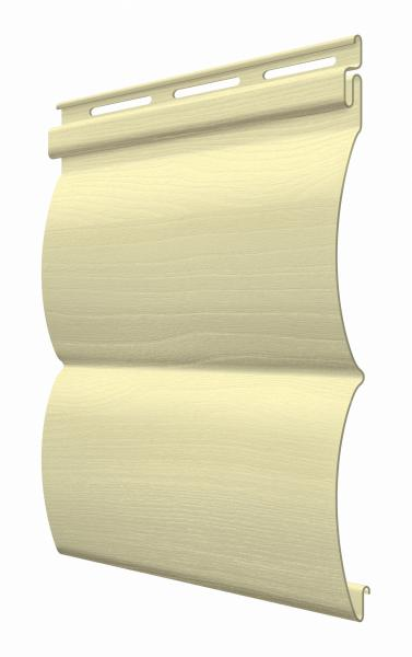 FaSiding - фасадный виниловый сайдинг - Панель Мимоза БлокХаус 3,66 х 0,23 м