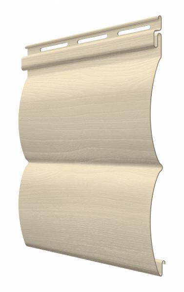 FaSiding - фасадный виниловый сайдинг - Панель Миндаль БлокХаус 3,66 х 0,23 м