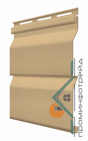 Фото Металлический сайдинг / Сайдинг ПВХ, FaSiding , Стандарт FaSiding - фасадный виниловый сайдинг - Панель Арахис 3,85 х 0,255 м
