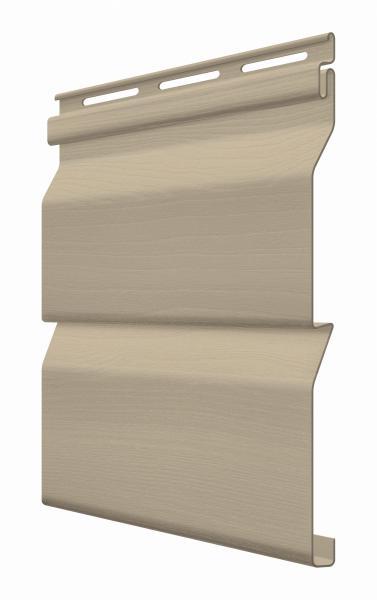 FaSiding - фасадный виниловый сайдинг - Панель Грецкий орех 3,85 х 0,255 м