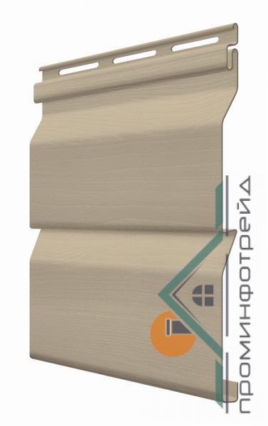 Фото Сайдинг, FaSiding , Стандарт FaSiding - фасадный виниловый сайдинг - Панель Грецкий орех 3,85 х 0,255 м