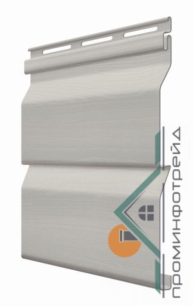 Фото Металлический сайдинг / Сайдинг ПВХ, FaSiding , Стандарт FaSiding - фасадный виниловый сайдинг - Панель Маковые зерна 3,85 х 0,255 м