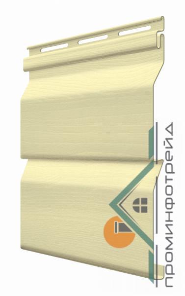 Фото Металлический сайдинг / Сайдинг ПВХ, FaSiding , Стандарт FaSiding - фасадный виниловый сайдинг - Панель Мимоза 3,85 х 0,255 м