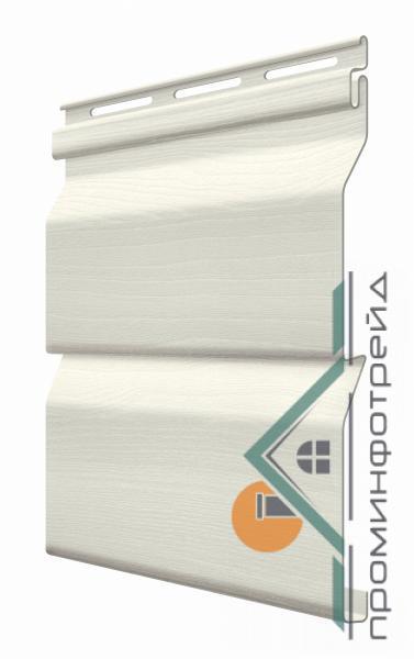 Фото Металлический сайдинг / Сайдинг ПВХ, FaSiding , Стандарт FaSiding - фасадный виниловый сайдинг - Панель Лён 3,85 х 0,255 м