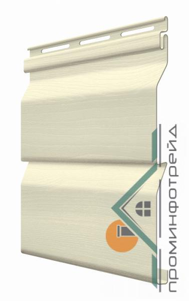 Фото Металлический сайдинг / Сайдинг ПВХ, FaSiding , Стандарт FaSiding - фасадный виниловый сайдинг - Панель Пшеница 3,85 х 0,255 м