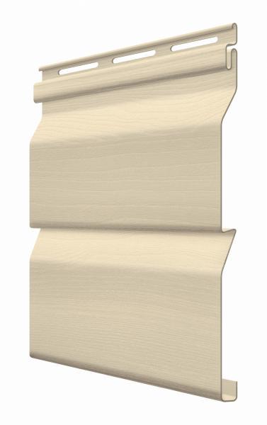 FaSiding - фасадный виниловый сайдинг - Панель Миндаль 3,85 х 0,255 м