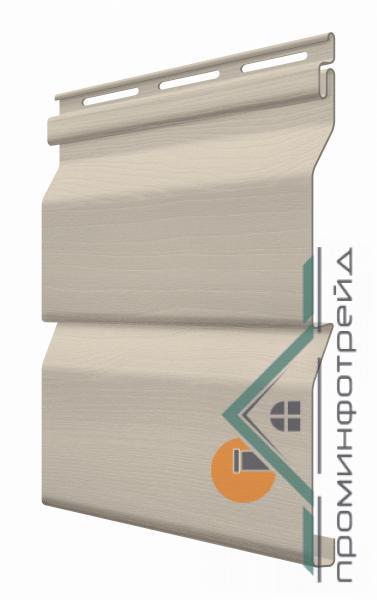 Фото Сайдинг, FaSiding , Стандарт FaSiding - фасадный виниловый сайдинг - Панель Какао 3,85 х 0,255 м