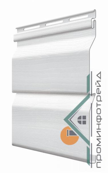 Фото Металлический сайдинг / Сайдинг ПВХ, FaSiding , Стандарт FaSiding - фасадный виниловый сайдинг - Панель Хлопок 3,85 х 0,255 м