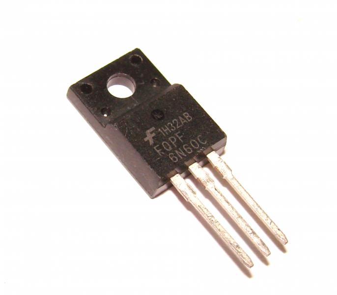 Транзистор FQPF6N60C 6N60 6А 600В