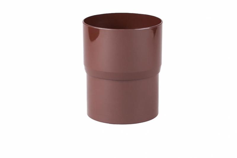 PROFiL – пластиковые водосточные системы - Соеденитель трубы 90 коричневый