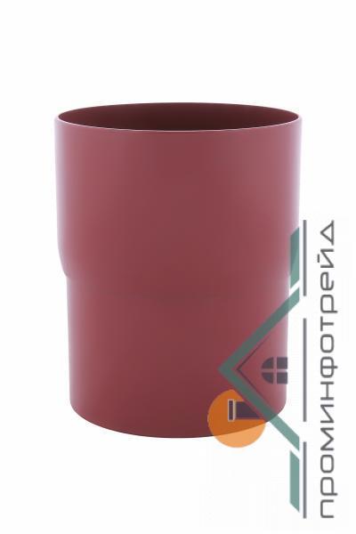 Фото Водосточные системы PROFiL – пластиковые водосточные системы - Соеденитель трубы 90 красный