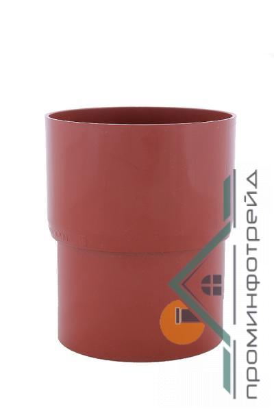 Фото Водосточные системы PROFiL – пластиковые водосточные системы - Соеденитель трубы 130 кирпичный