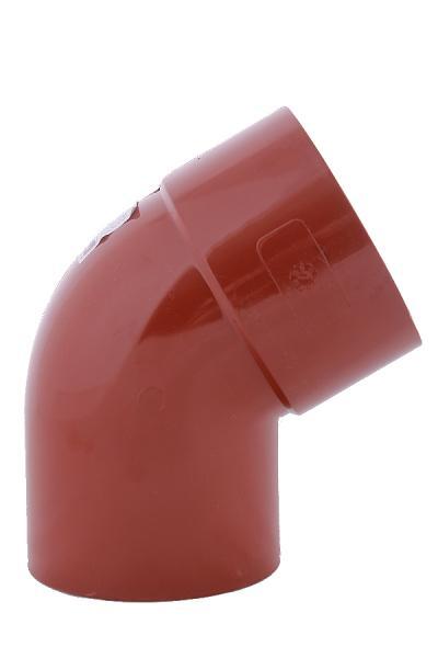 PROFiL – пластиковые водосточные системы - Колено 75 кирпичное