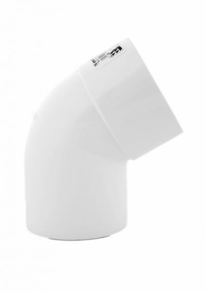PROFiL – пластиковые водосточные системы - Колено 75 белое