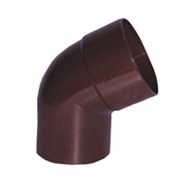 PROFiL – пластиковые водосточные системы - Колено 75 коричневое