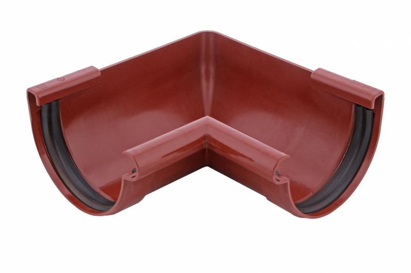 PROFiL – пластиковые водосточные системы - Угол внутренний 90 кирпичный 90°