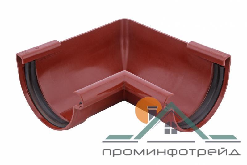Фото Водосточные системы PROFiL – пластиковые водосточные системы - Угол внутренний 90 кирпичный 90°