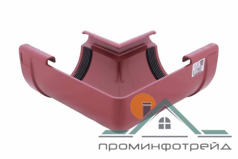 Фото Водосточные системы PROFiL – пластиковые водосточные системы - Угол внутренний 130 красный 90°