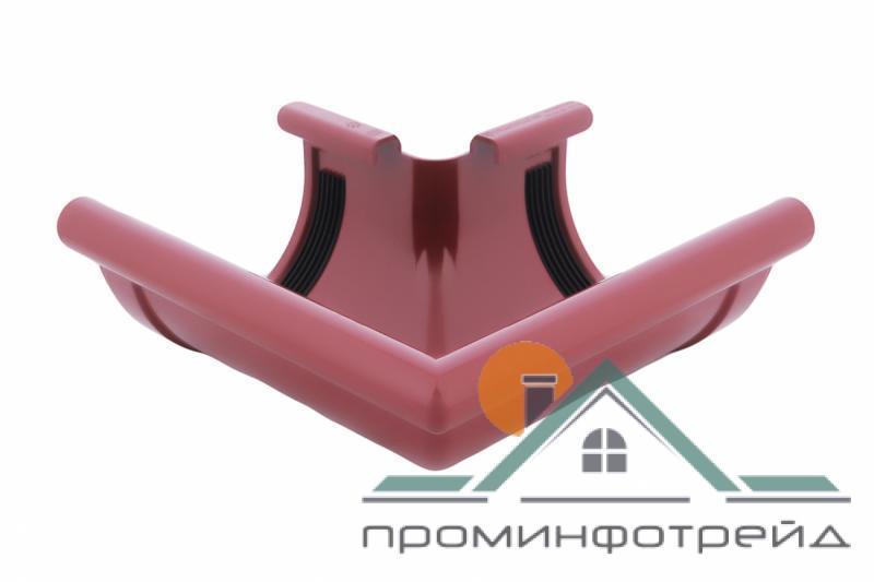 Фото Водосточные системы PROFiL – пластиковые водосточные системы - Угол внешний 130 красный 90°