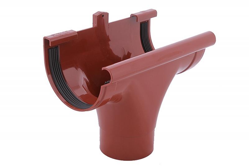 PROFiL – пластиковые водосточные системы - Ливнеприемник проходной 130 кирпичный