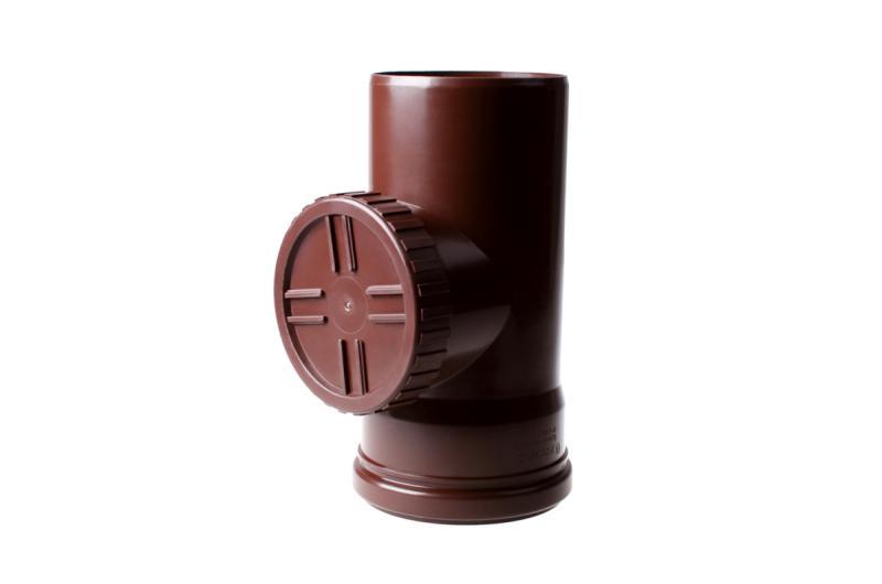 PROFiL – пластиковые водосточные системы - Ревизия 130 коричневая