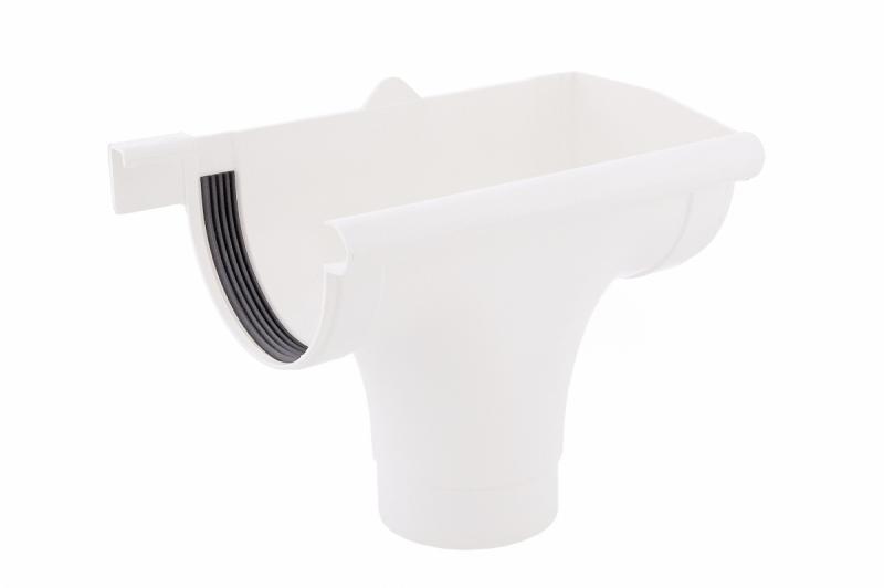 PROFiL – пластиковые водосточные системы - Ливнеприемник правый 130 белый