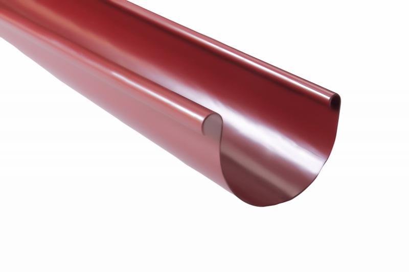 PROFiL – пластиковые водосточные системы - Желоб 130 красный 3 м