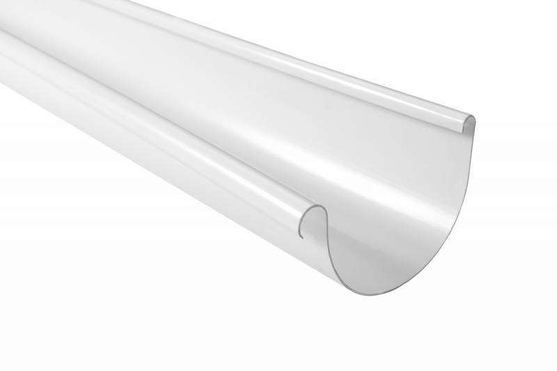 PROFiL – пластиковые водосточные системы - Желоб 130 белый 3м